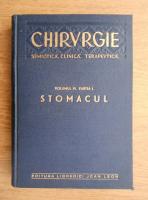 Anticariat: I. Iacobovici - Chirurgie semiotica, clinica, terapeutica. Stomacul (volumul 4, partea 1)