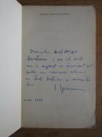 I. Igirosianu - Clepsidra amurgului (cu autograful autorului)
