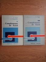 Anticariat: I. Inta - Complemente de fizica (2 volume)