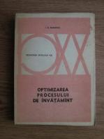I K Babanski - Pedagogia Secolului XX. Optimizarea procesului de invatamant