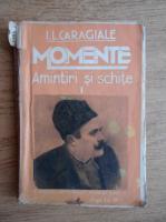 I.L.Caragiale - Amintiri si schite (1936)