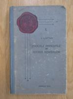 Anticariat: I. Lupas - Epocele principale in istoria romanilor (volumul 1, 1928)