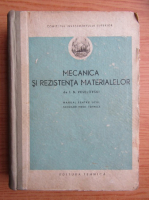 I. N. Veselovski - Mecanica si rezistenta materialelor