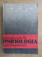 Anticariat: I. Radu - Introducere in psihologia contemporana