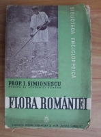 I. Simionescu - Flora Romaniei (1939)