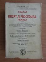 I. Tanoviceanu - Tratat de drept si procedura penala (volumul 1, 1924)