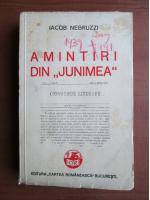Anticariat: Iacob Negruzzi - Amintiri din Junimea (1939)