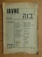 Anticariat: Iavne Kisiev, nr. 12-13, decembrie 1946