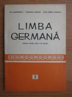 Ida Alexandrescu, Christiane Cosmatu - Limba germana. Manual pentru anul V de studiu