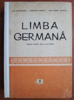 Ida Alexandrescu - Limba Germana. Manual pentru anul V de studiu