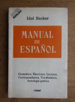 Idel Becker - Manual de espanol