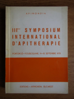 Anticariat: III eme Symposium International D'apitherapie