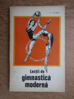 Anticariat: Ileana Jipa - Lectii de gimnastica moderna