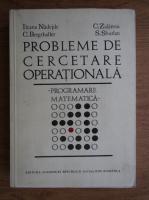 Ileana Nadejde - Probleme de cercetare operationala