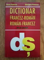 Anticariat: Ileana Popescu, Gheorghe Pienescu - Dictionar francez-roman, roman-francez de uz scolar