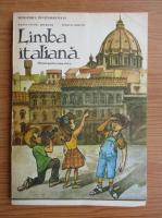 Anticariat: Ileana Tanase Bogdanet - Limba italiana. Manual pentru clasa a VI-a (1992)
