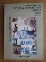 Anticariat: Ilie Badescu, Darie Cristea - Elemente pentru un dictionar de sociologie rurala