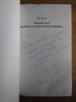 Ilie Dobre - Cristian Gatu, un print la curtea regelui handbal (cu autograful autorului)