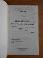 Anticariat: Ilie Dobre - Mircea Radulescu antrenorul a patru echipe nationale (cu autograful autorului)