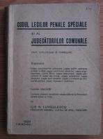 Ilie N. Lungulescu - Codul legilor penale speciale