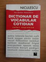 Ilie-Stefan Radulescu - Dictionar de vocabular cotidian