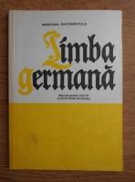 Ilse Chivaran Muller - Limba germana. Manual pentru anul VI, a doua limba de studiu (1997)