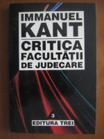 Immanuel Kant - Critica facultatii de judecare
