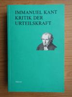 Anticariat: Immanuel Kant - Kritik der urteilskraft