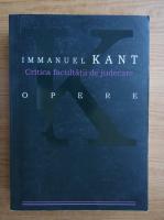 Immanuel Kant - Opere