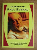 Anticariat: In memoriam Paul Everac