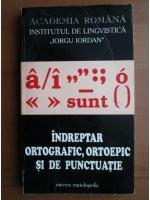 Indreptar ortografic, ortoepic si de puctuatie