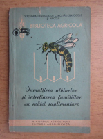 Inmultirea albinelor si intretinerea familiilor cu matei suplimentare