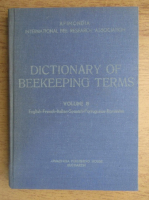 International bee research association dictionary of beekeeping terms (volumul 8)