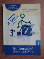 Ioan Balica - Matematica pentru clasa a VII-a (volumul 1)