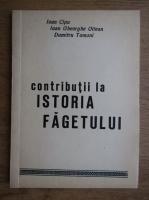 Anticariat: Ioan Cipu - Contributii la istoria Fagetului