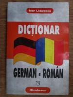 Anticariat: Ioan Lazarescu - Dictionar german-roman