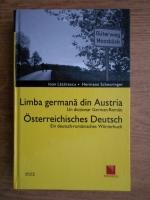 Anticariat: Ioan Lazarescu - Limba germana din Austria. Un dictionar german-roman