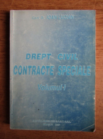 Anticariat: Ioan Lucian - Drept civil. Contracte speciale (volumul 1)