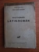 Ioan Nadejde, Amelia Nadejde Gesticone - Dictionar latin-roman (editie veche)