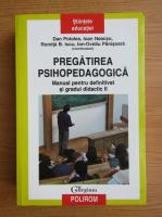 Anticariat: Ioan Neacsu, Romita B. Iucu - Pregatirea psihopedagogica. Manual pentru definitivat si gradul didactic II