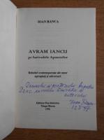 Ioan Ranca - Avram Iancu (cu autograful autorului)