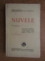 Ioan Slavici - Nuvele (volumul 1, 1931)
