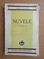 Anticariat: Ioan Slavici - Nuvele (volumul 4, 1935)