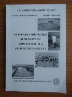 Ioana Cristina Andronie - Evaluarea protectiei si bunastarii animalelor si a protectiei mediului