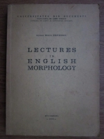 Ioana Stefanescu - Lectures in english morphology