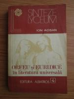 Anticariat: Ion Acsan - Orfeu si Euridice in literatura universala