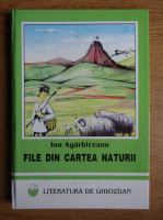 Ion Agarbiceanu - File din cartea naturii
