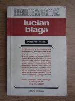 Ion Agarbiceanu, Ioan Alexandru - Lucian Blaga