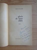 Anticariat: Ion Arama - Gloria de toate zilele (cu autograful autorului)