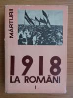 Ion Ardeleanu - Desavarsirea unitatii national-statale a poporului roman (volumul 1)